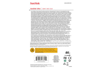 Sandisk Ultra memory card 16 GB SDHC Class 10 UHS-I