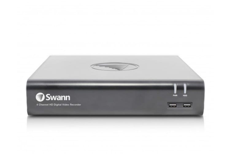 Swann 4 Channel 1080p 1TB DVR with 4 x PRO-1080MSB Thermal Motion Sensing Cameras and Google Assistant (SWDVK-445804V)