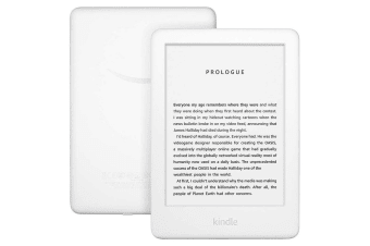 Amazon Kindle eReader with Front Light (4GB, White)