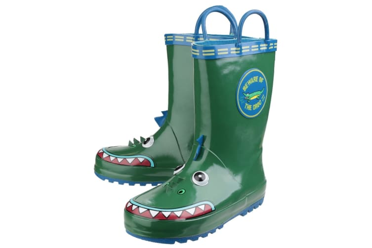 Cotswold Childrens Puddle Boot / Boys Boots (Crocodile) (27 EUR)