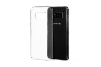 924870e364 Samsung Galaxy S8+ Slim Bumper Case (Clear)
