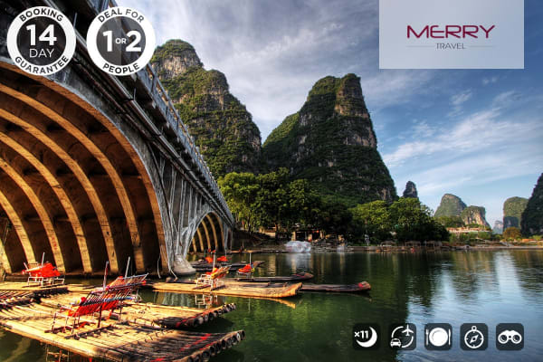 CHINA: Golden China 12 Day Tour, Beijing Xi'an Shanghai Yangshuo Ex Brisbane (12 Days, Twin)