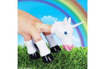 Handicorn Unicorn Hand Puppet Funny Horse Magical Fun Play Quirky Weird Awesome Toy