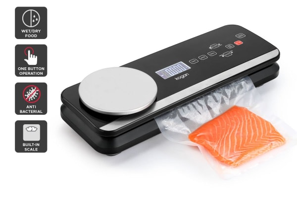 Kogan 2-in-1 Food Vacuum Sealer with Kitchen Scale