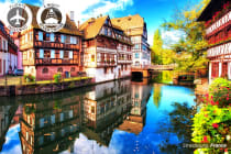 EUROPE: 10 Day Rhine River Cruise Including Flights for Two