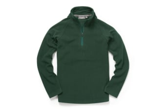 Craghoppers Womens Expert Basecamp Half Zip Microfleece (Dark Green) (16)