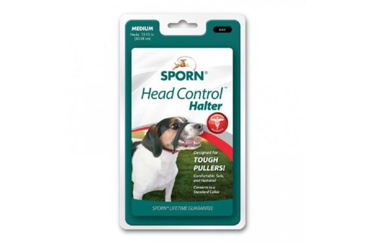 Sporn Head Halter Black - XL
