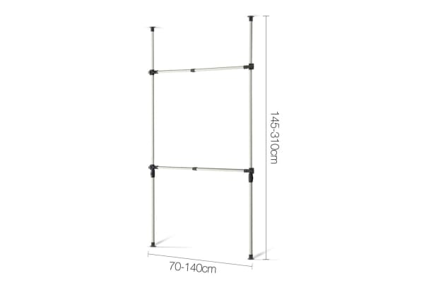 DIY Ajustable Garment Rack (Small)