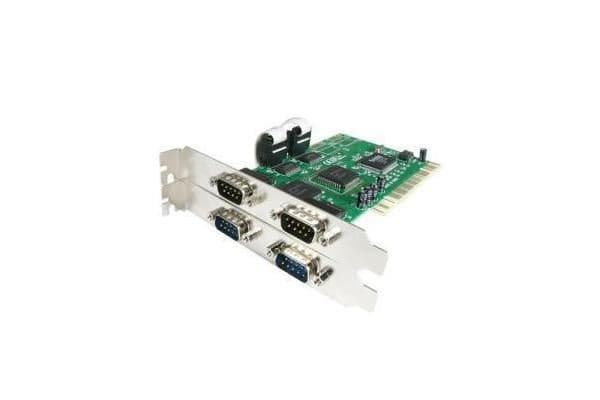 STARTECH 4 Port PCI RS232 Serial Adapter Card with 16550 UART