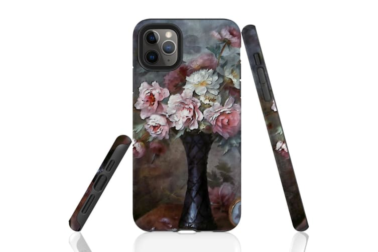 For iPhone 11 Pro Max Protective Case Unique Phone Cover  Petals of Perfection