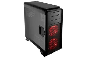 Corsair 760T w/Windowed Side Panel Tower Case. Supports mATX, ATX, E-ATX, XL-ATX