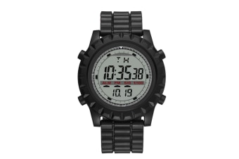 Men'S Electronic Watch Simple Fashion Waterproof Watch - Black Black