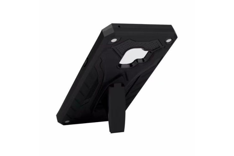 For Samsung Galaxy S9 Case Armour Strong Shockproof Tough Cover Kickstand  Black