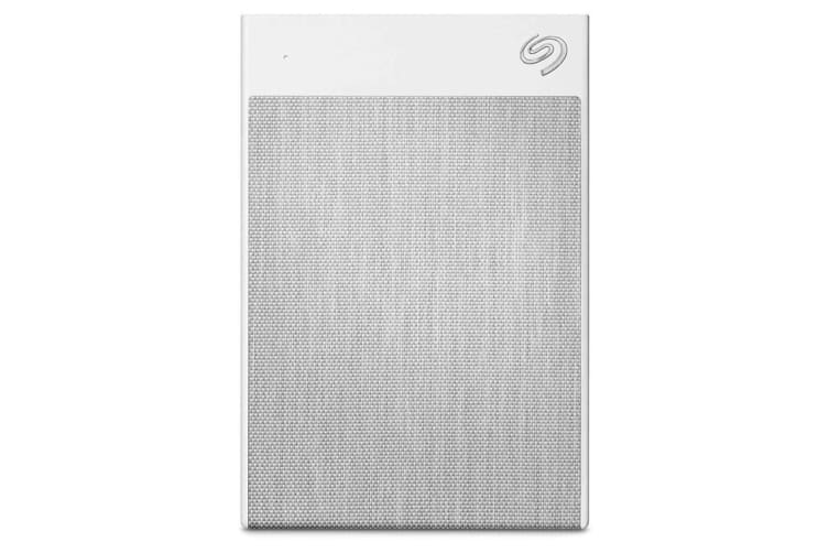 Seagate 2TB Backup Plus Ultra Touch -  USB Type-C  --  White