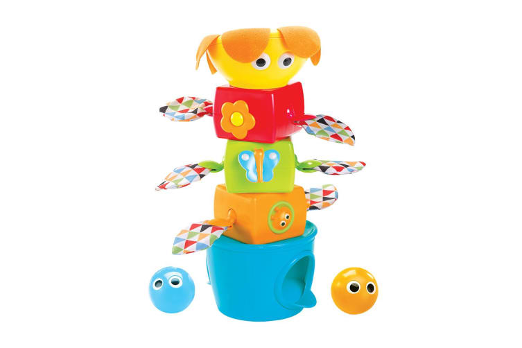 Yookidoo Stack Flap N Tumble Baby Activity Toy
