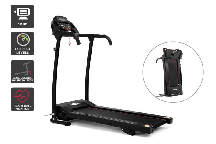 Fortis 360mm Belt Adjustable Incline Electric Treadmill