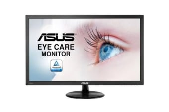 ASUS VP247HA Eye Care Monitor - 24 inch (23.6 inch viewable), Full HD, Flicker Free, Blue Light Filter, Anti Glare
