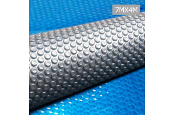 Solar Insulating Swimming Pool Cover Bubble Blanket 7m X 4m