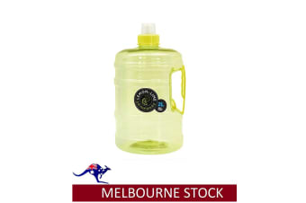 2 LITRE 2L WATER BOTTLE DRINK WITH HANDLE BPA FREE