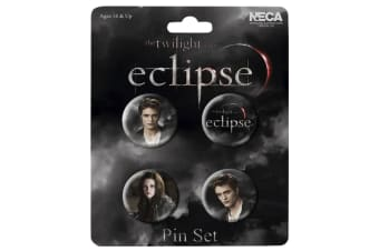 The Twilight Saga Eclipse Pin Set of 4 Edward & Bella