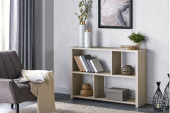 Shangri-La Book Shelf - Alta Collection (Dusky Oak)