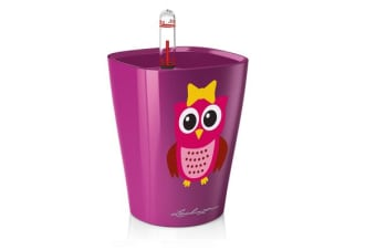 Lechuza Mini Deltini (Owl)(High Gloss Fuchsia)
