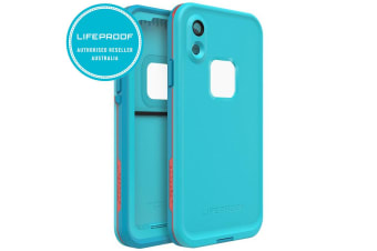 Lifeproof Fre Waterproof Case/Cover Protection for iPhone XR Boosted Orange/Blue