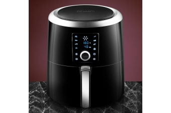 Devanti Air Fryer w/ Accessories Airfryer Fryers 7L Oil Free Cooker Deep Frying