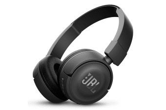 JBL T450BT Wireless On-Ear Headphones - Black