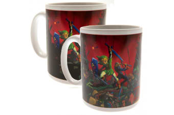 The Legend Of Zelda Official Heat Changing Mug (Multicoloured) (One Size)