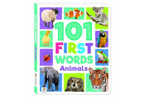 Image of 101 First Words - Animals (refresh)