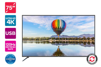 "Refurbished Kogan 75"" 4K LED TV (Series 8 KU8000)"