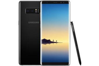 Used as Demo Samsung Galaxy Note 8 N950F Black 64GB (AU STOCK, AU MODEL, 100% Genuine)
