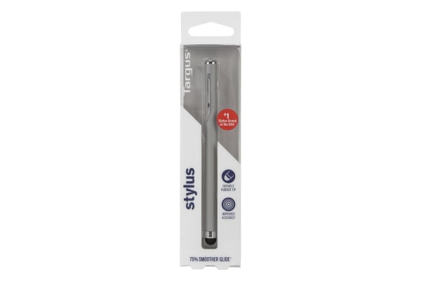 Targus Stylus with Embedded Clip - Grey (AMM16504US)