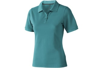 Elevate Calgary Short Sleeve Ladies Polo (Aqua)