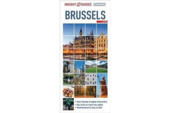 Insight Guides Flexi Map Brussels