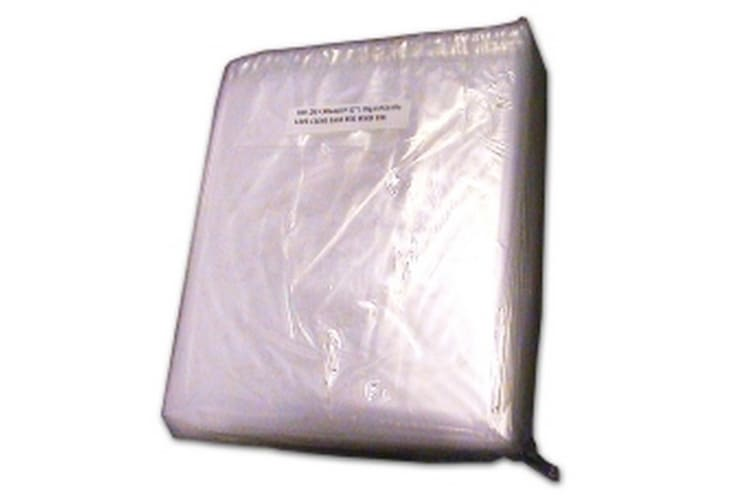 Kingfisher Packaging Clear Polythene Bags (Pack Of 1000) (Clear) (10 x 12 Inches)