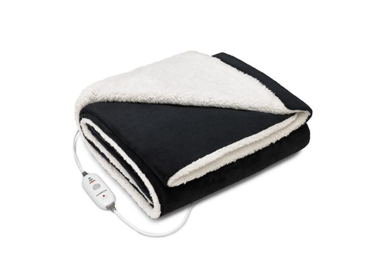 Kambrook Day Dreamer Reversible Plush Heated Throw (KHT331NAV)
