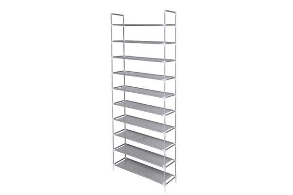 10 Tier Shoe Rack -Small