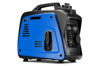 GenTrax Inverter Generator - 800W Max, 700W Rated, 100% Pure Sine Wave, Petrol, Portable for Camping Home - Blue