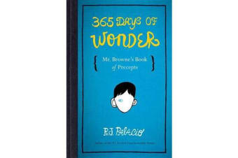 365 Days of Wonder - Mr. Browne's Book of Precepts