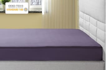 Ovela 1000TC Cotton Rich Luxury Fitted Sheet (Lilac)