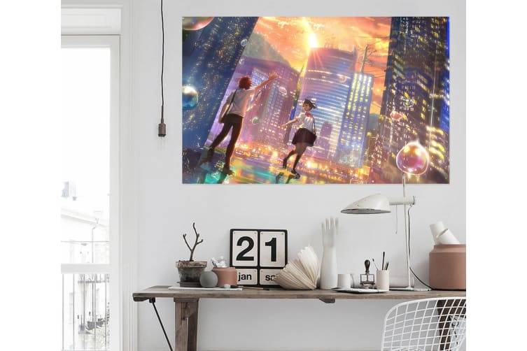 3D Your Name 67 Anime Wall Stickers Self-adhesive Vinyl, 110cm x 110cm(43.3'' x 43.3'') (WxH)