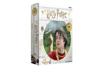 48pc Harry Potter In Quidditch Jigsaw Puzzle Kids/Children 3y+ Educational Toy