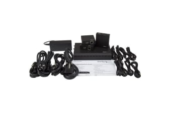 StarTech.com 3-Port HDBaseT Extender Kit with 3 Receivers - 1x3 HDMI over CAT5