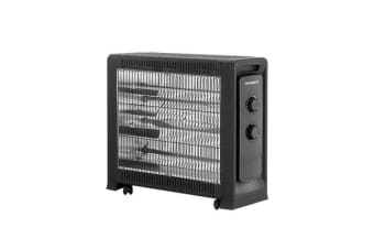 Devanti 2200W Infrared Radiant Heater Portable Electric Convection Panel Heating