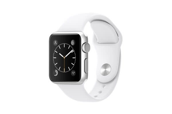 Apple Watch (42mm, White Sport Band)