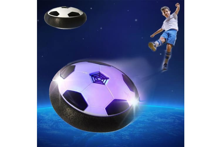 The Amazing Hovering Soccer Ball Floats On A Cloud Of Air!