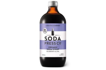 Soda Press Co Syrup 500ml - Blueberry & Lime