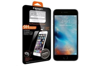 "Spigen iPhone 6S Plus (5.5"") Premium Tempered Glass Screen Protector-3D Touch Compatible"